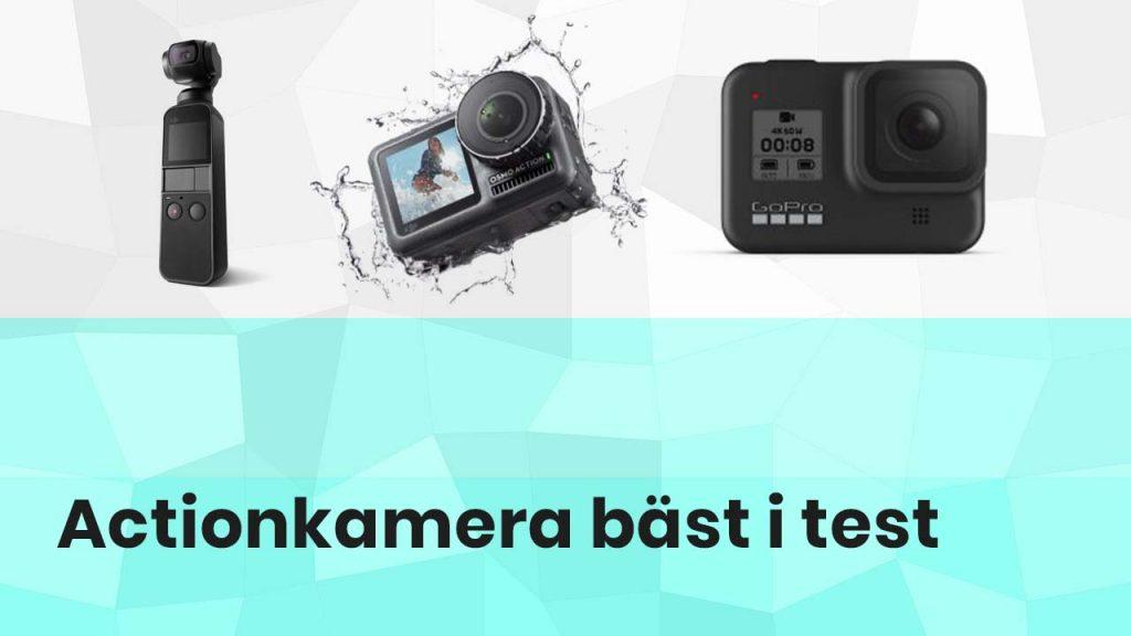 Actionkamera bäst i test