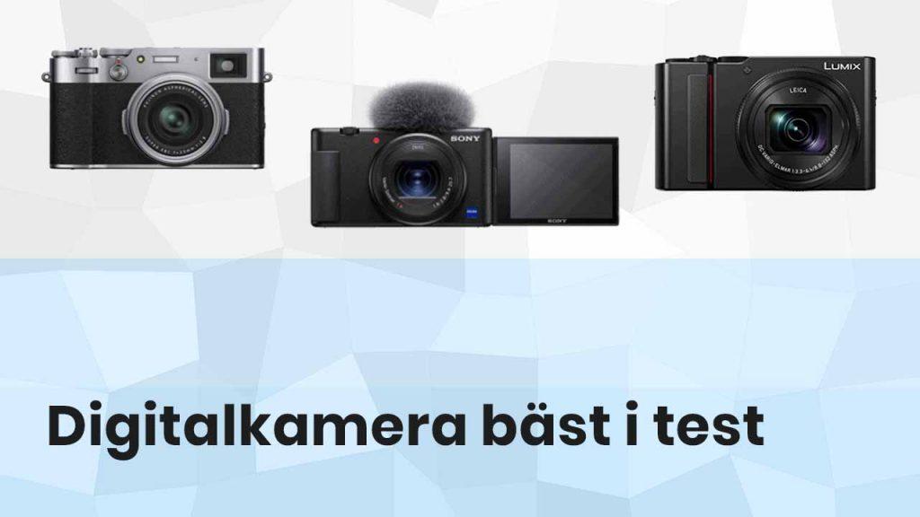 Digitalkamera bäst i test