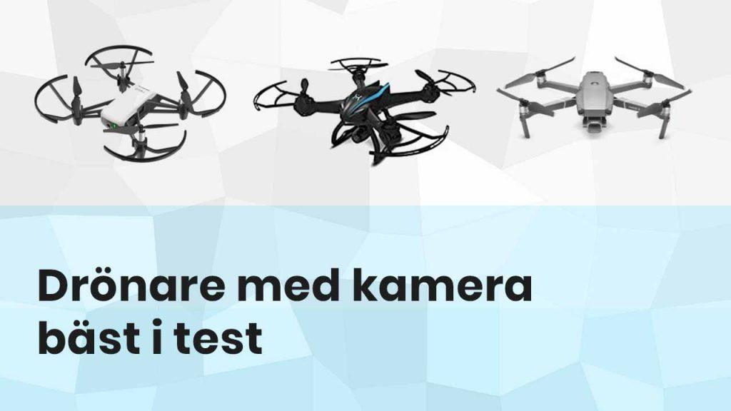 Drönare med kamera bäst i test