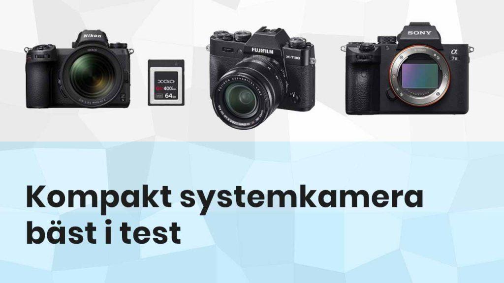 Kompakt systemkamera bäst i test