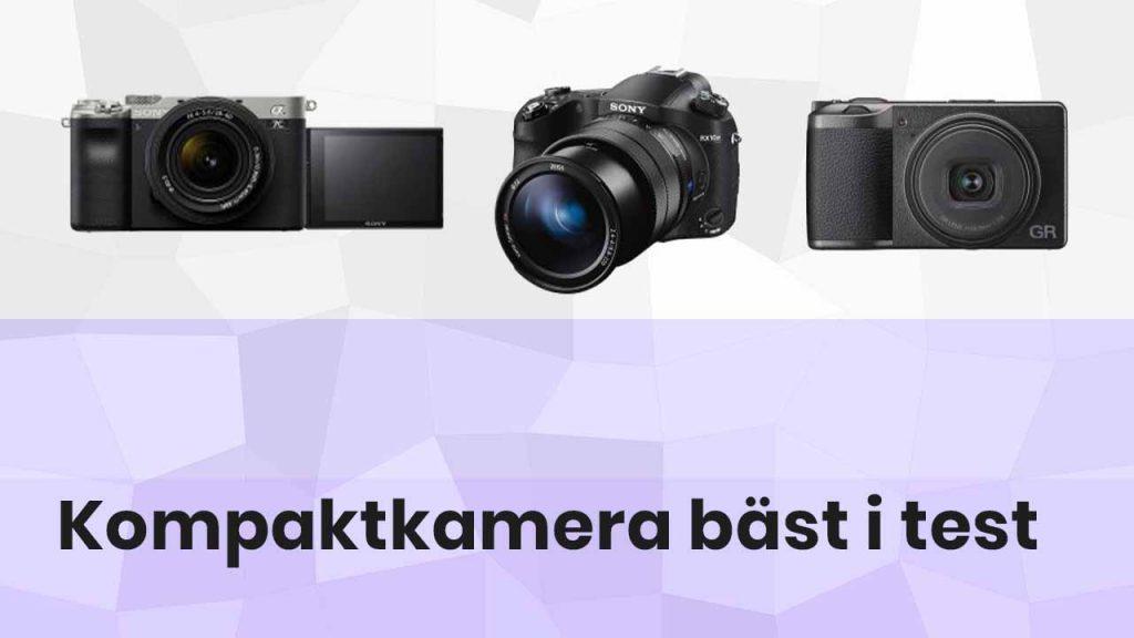 Kompaktkamera bäst i test