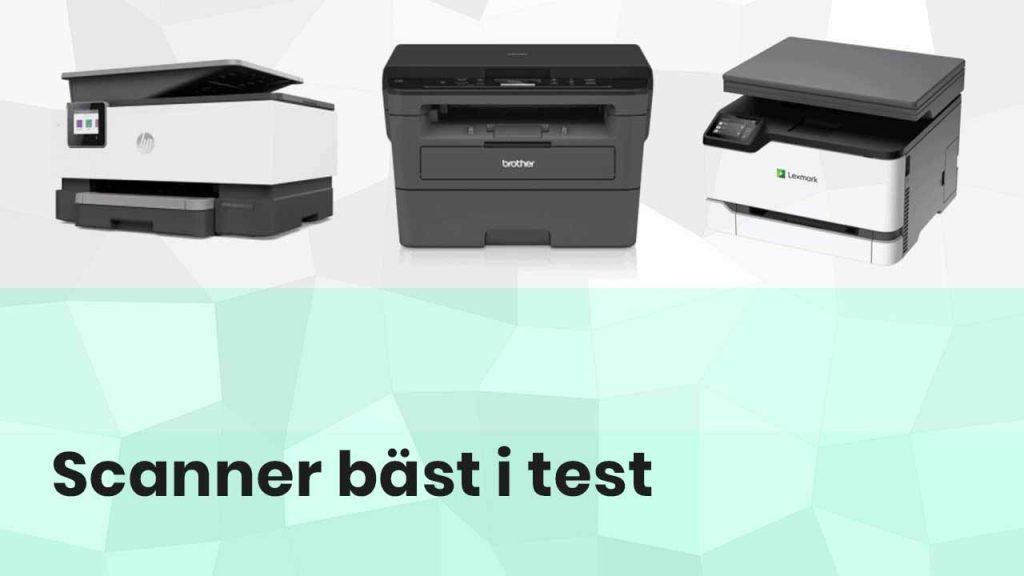 Scanner bäst i test